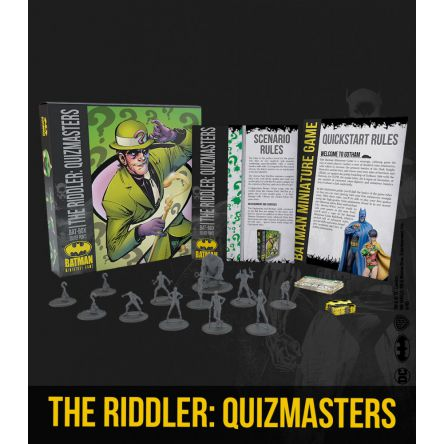 THE RIDDLER : QUIZMASTERS