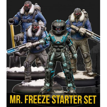 MR. FREEZE STARTER SET