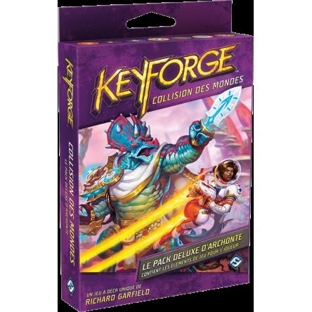Keyforge collision des mondes : pack deluxe