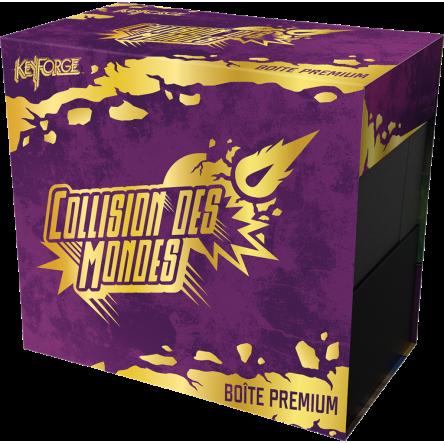 Keyforge collision des mondes : boîte prémium