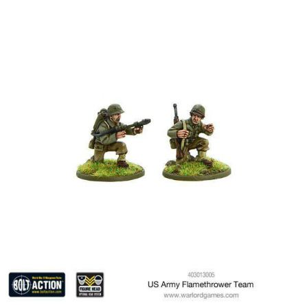 Bolt Action - US Army Flamethrower team