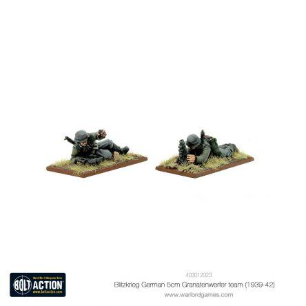 Bolt Action - Blitzkrieg German5cm Granatenwerfer team (1939-42)