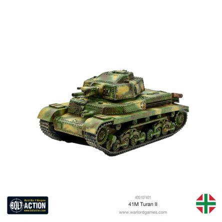 Bolt Action - Char moyen Turán II 41M