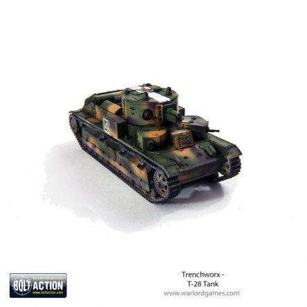 Bolt Action - Trenchworx T-28 Tank