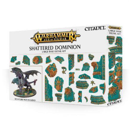 Shattered Dominion: Kit de décor pour grand socle