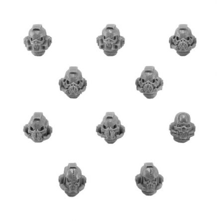 Night Lords Legion Terror Squad Upgrade Pack - Heads